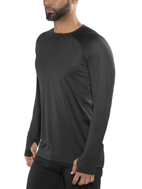 Skins Trooper Midlayer L/S Fleece 1/2 Zip Men Black